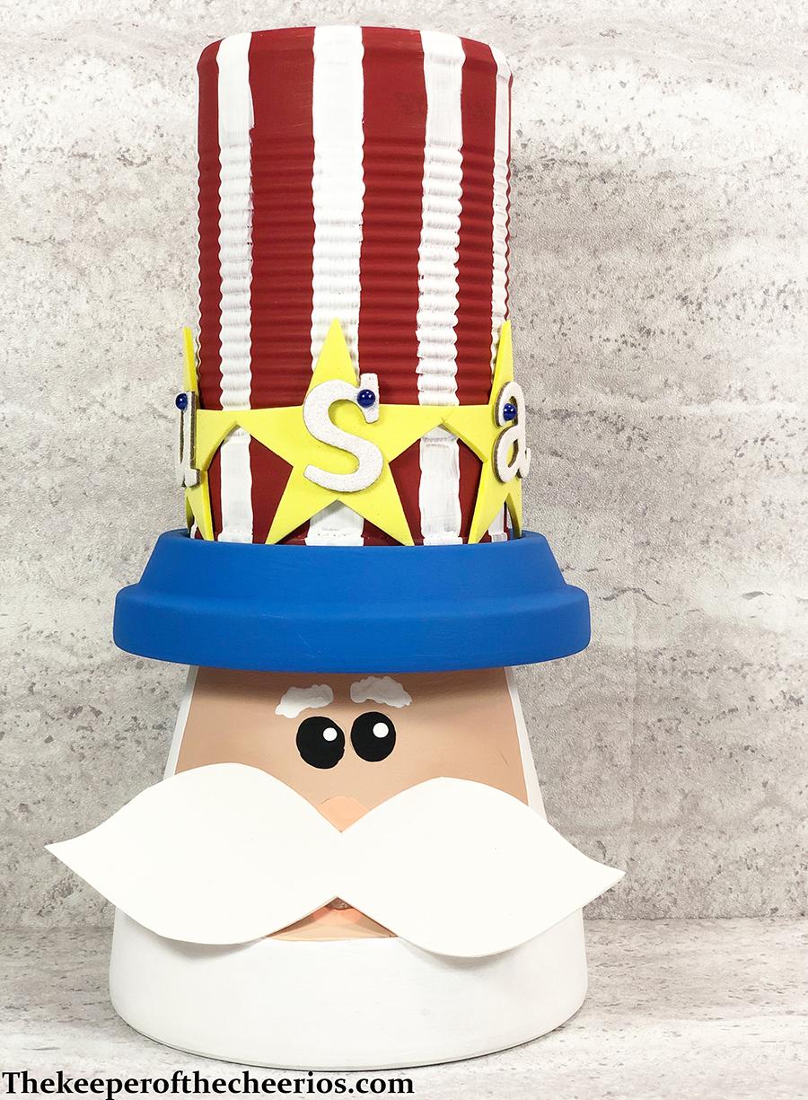 patriotic-clay-pot-uncle-sam-13