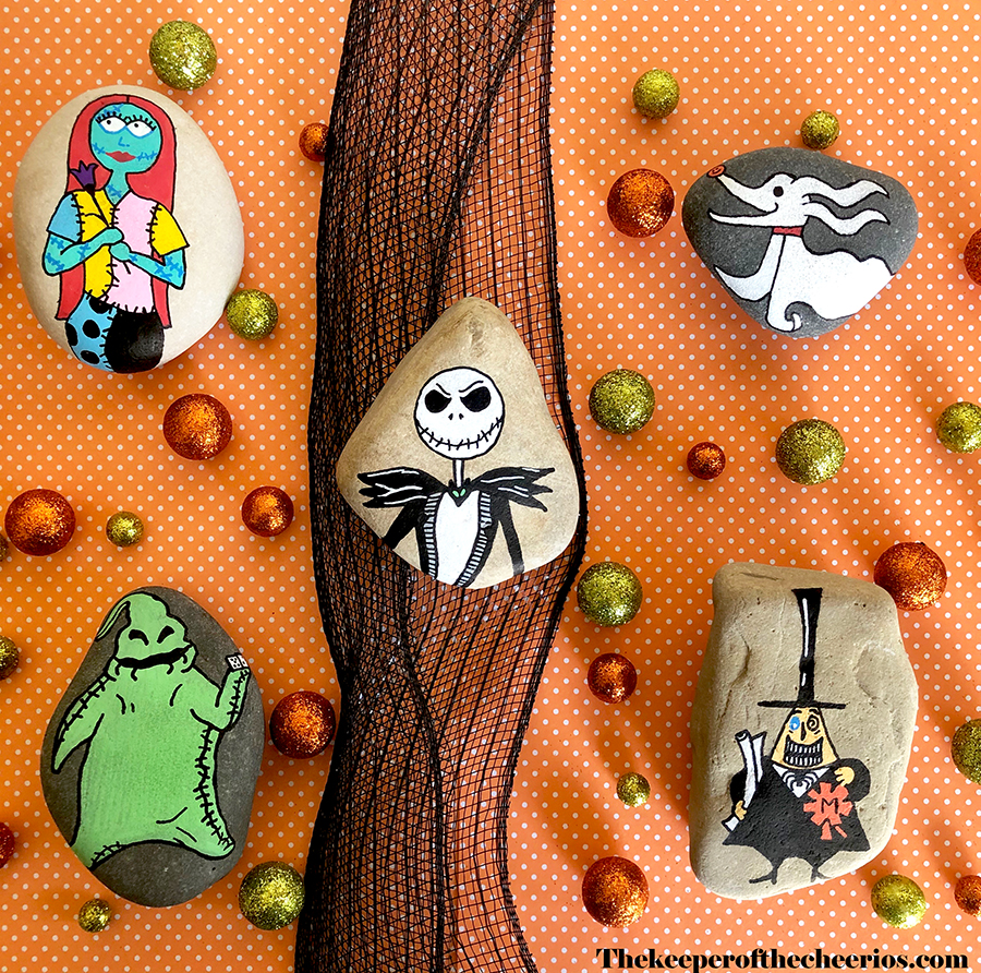 nightmare-before-christmas-hand-painted-rocks