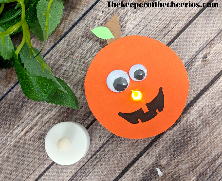 tealight-pumpkin