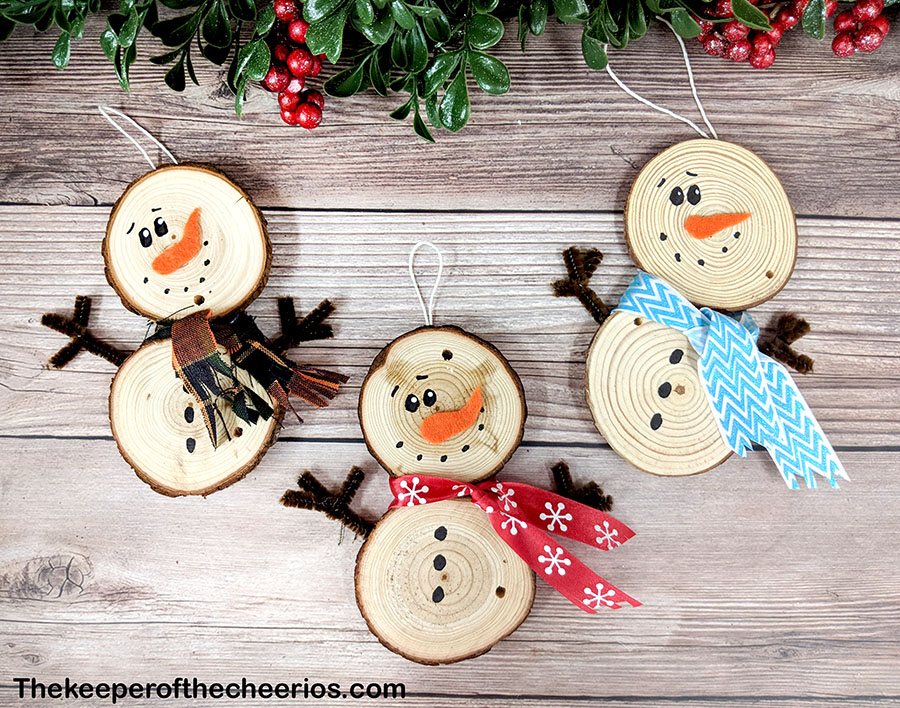 wood-slice-snowmen-6