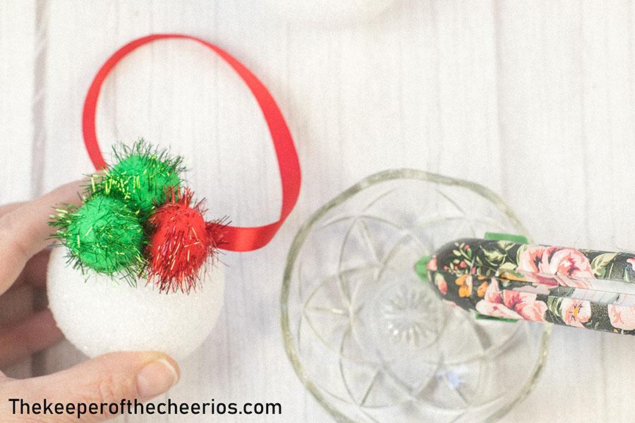 Styrofoam-Pom-Pom-Ornament-2
