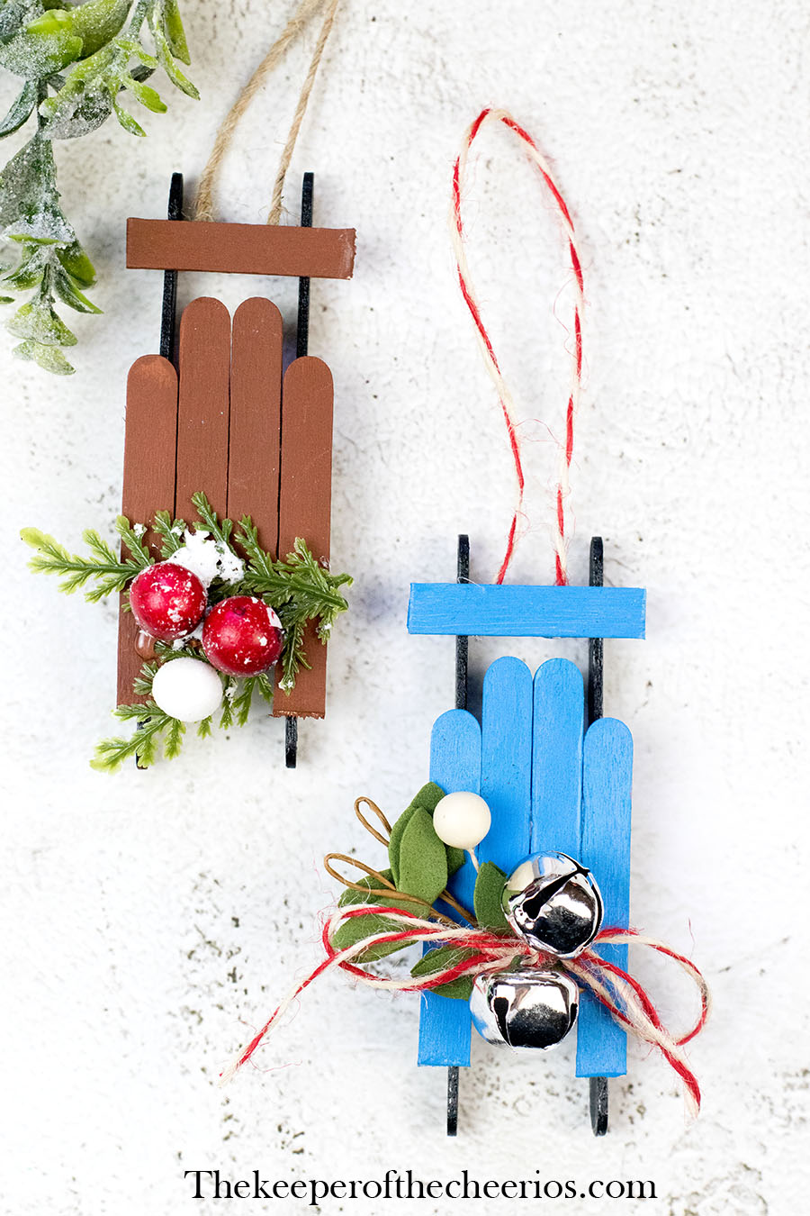 craft-stick-wood-sled-ornament-9