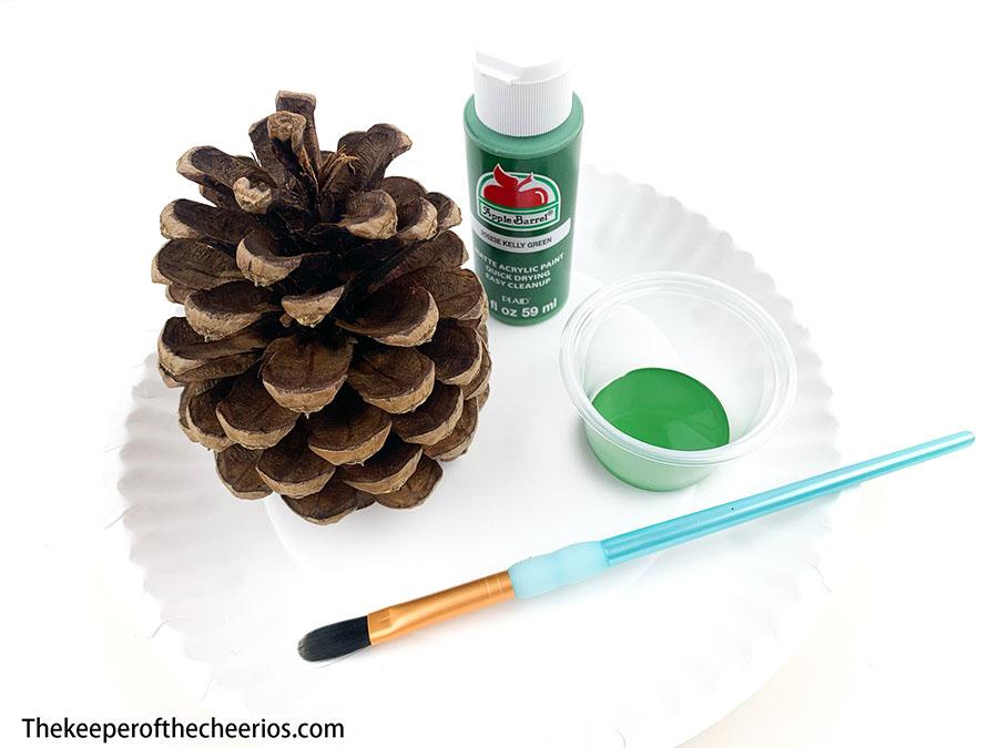 Pine-Cone-Christmas-Tree-craft-2