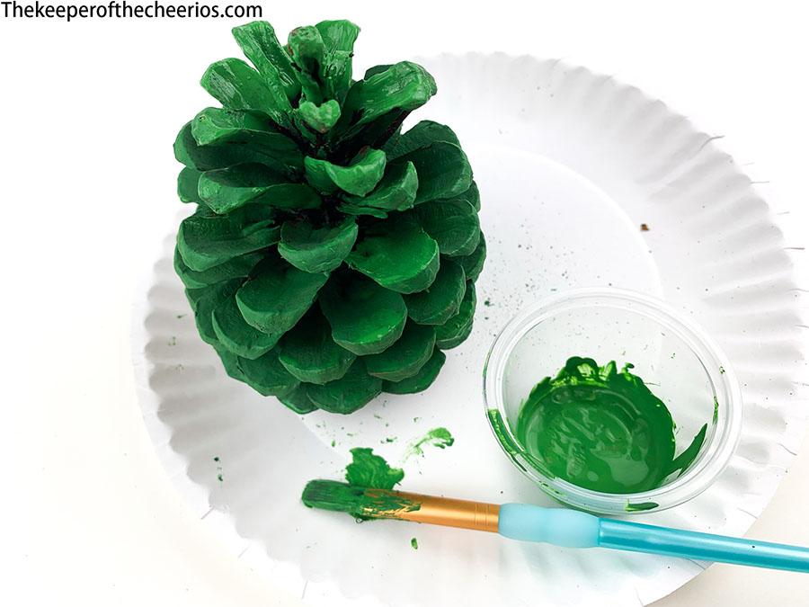 Pine-Cone-Christmas-Tree-craft-4